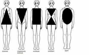 Типы фигуры. Как подобрать одежду по фигуре.