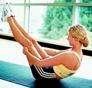 упражнение по калланетике