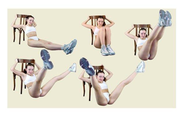 комплекс упражнений для похудения для женщин видео