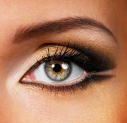 макияж для больших глаз фото