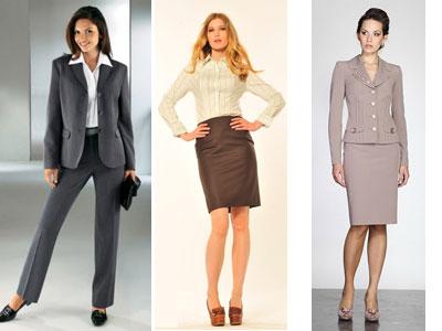Деловой стиль одежды для женщин - фото костюмов