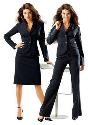 стильные деловые костюмы