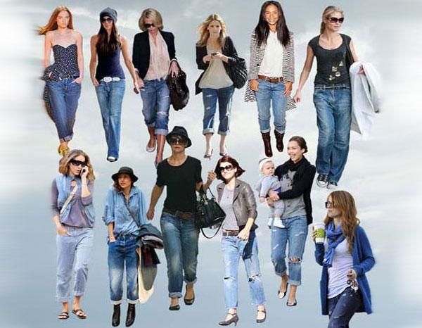 что одеть с джинсами фото