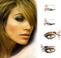 черный макияж глаз фото