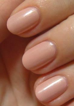 круглая форма ногтей фото
