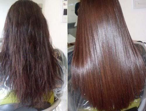 фото волосы после ламинирования в салоне