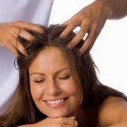 Домашний массаж головы