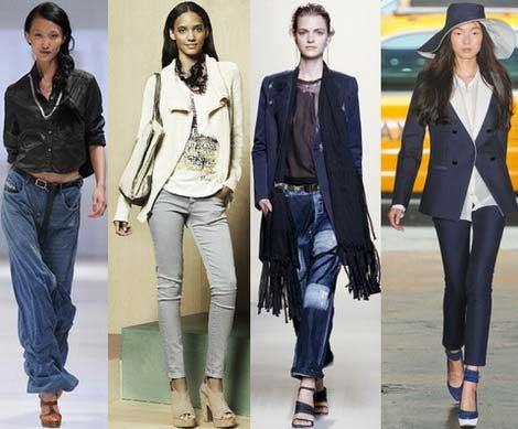 С чем носить женские укороченные брюки