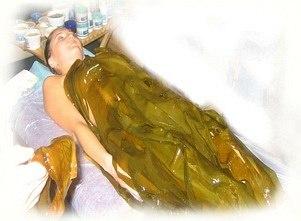 водорослевое обертывание для похудения