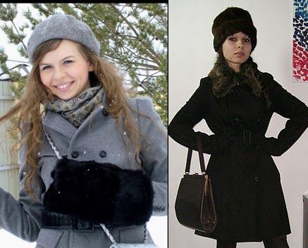 какую шапку носить с пальто фото