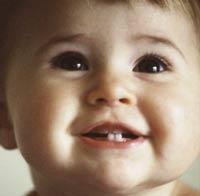 в каком порядке появляются молочные зубы