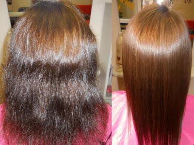 Ламинирование волос как делается