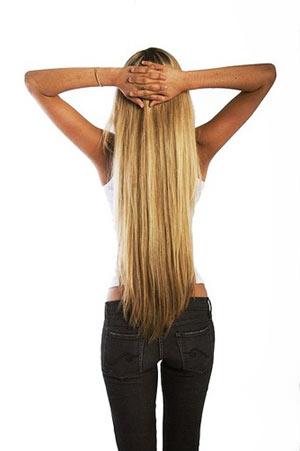 на фото длиныне волосы до попы