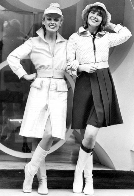 одежда ретро стиля