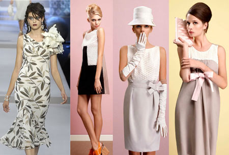 стиль ретро - фото платья