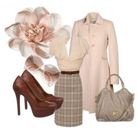 современный гардероб в ретро стиле