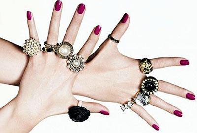 как носить кольца на руках фото
