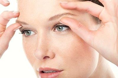на фото шелушение кожи лица вокруг глаз