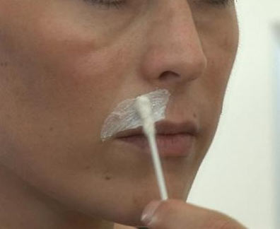 удаление усов бритвой не эффективно!
