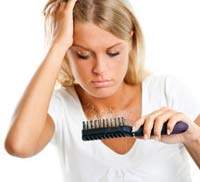 сильное выпадение волос фото