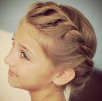 косички на длинные волосы фото