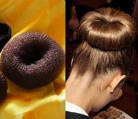 бублик для волос фото
