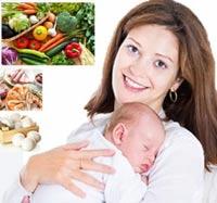 диета для кормящих мам в первый месяц