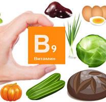 Продукты содержащие большое количество витамина В9